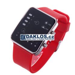 Moderní digitální LED hodinky - 2 barvy