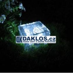 LED solární dlaždice / kostka