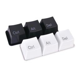 Šálky / Misky / Sada hrníčků / Šálkový set - klávesy - Ctrl Alt Del (Delete)