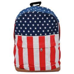 Školní / Cestovní batoh s americkou vlajkou / USA