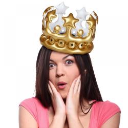 Nafukovací party koruna | Král