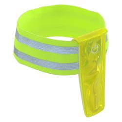 Pásek reflexní s LED diodami na ruku