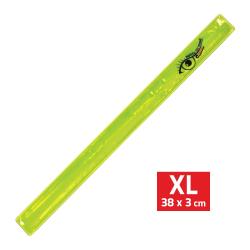 Bezpečnostní reflexní pásek ROLLER žlutý XL 38x3cm