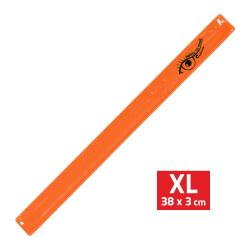 Bezpečnostní pásek reflexní ROLLER XL 3x38cm oranžový