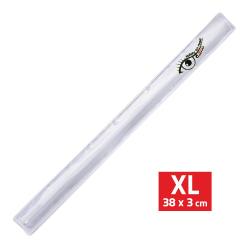 Bezpečnostní pásek reflexní ROLLER XL 3x38cm stříbrný