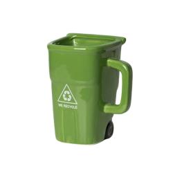 Ekologický hrnek popelnice - zelený