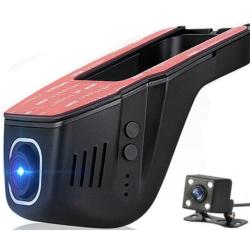 Dvojitá WiFi HD kamera do auta - Kamera pod zpětné zrcátko