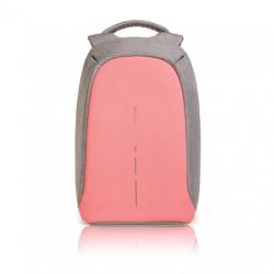 """Městský batoh, který nelze vykrást Bobby, 14"""", XD Design, růžový"""