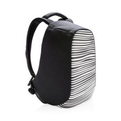 """Městský batoh, který nelze vykrást Bobby, 14"""", XD Design, zebrovaný"""