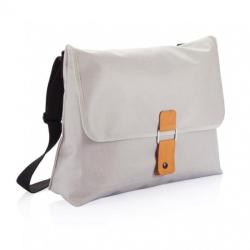 Unisex taška přes rameno Pure, XD Design, šedá