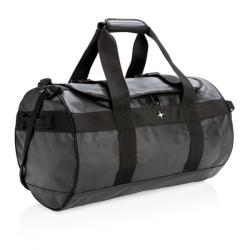 Chytrá cestovní taška do ruky, přes rameno i na záda, Swiss Peak, černá