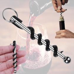 Vývrtka na víno na klíče, klíčenka