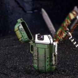 Plazmový Nabíjecí Voděodolný Zapalovač - vojenský / armádní