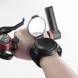 Zpětné zrcátko na kolo na ruku zápěstí s UV ochranou