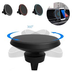 Bezdrátová nabíječka a držák do auta pro iPhone XR X XS MAX + magnetický držák