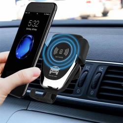 Bezdrátová nabíječka pro SAMSUNG Galaxy a SONY a držák do auta