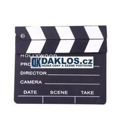 Filmová klapka - černá