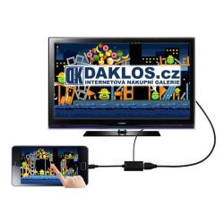 Konvertor z micro USB (telefonu) do HDMI (televize)
