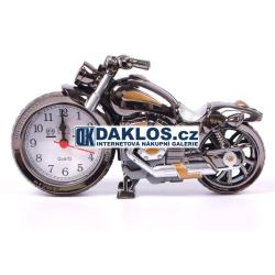 Stolní hodiny - Motorka / Motocykl / Chopper