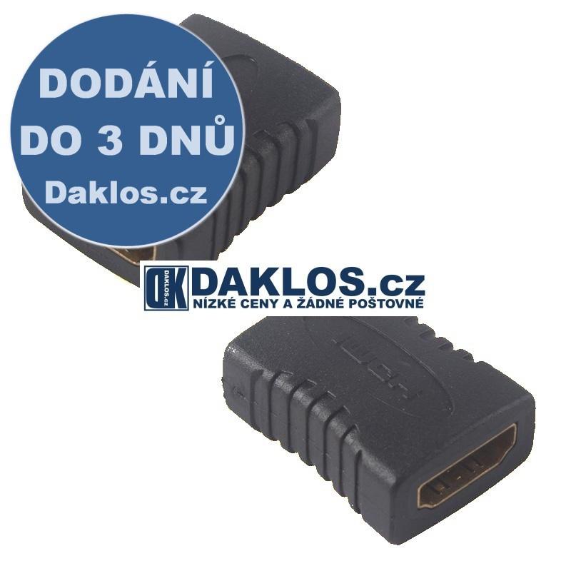 HDMI spojka s pozlacenými konektory