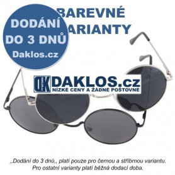 Retro sluneční brýle - Lenonky - 90 - 3 varianty