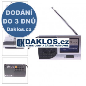 Přenosné mini AM FM radio