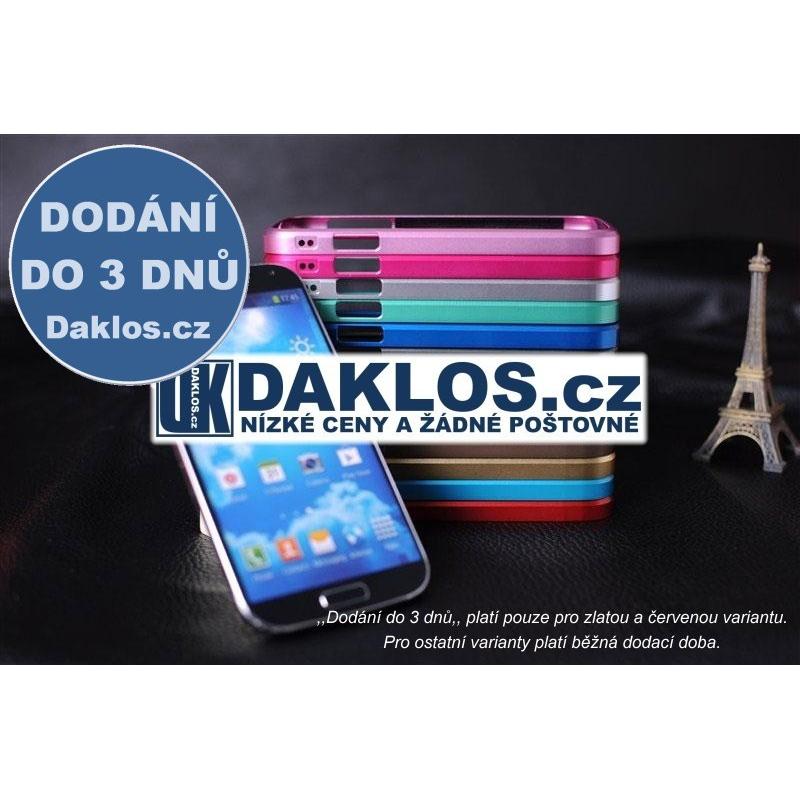 Hliníkový kryt / rámeček pro Samsung Galaxy S4 SIV i9500, Barva Černá