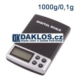 Kapesní mini kuchyňská digitální váha - 0,01 - 100 g / 0,1 kg
