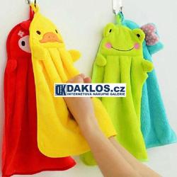 Fleecový ručník - zvířátka