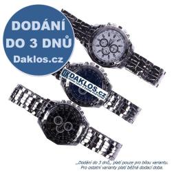 Pánské hodinky ve 3 provedeních
