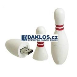USB Flash disk / Fleška 4 8 16 GB - Bowlingová kuželka