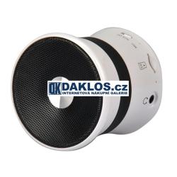 Přenosný Bluetooth reproduktor s MP3 přehrávačem a micro SD slotem