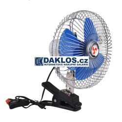 Mini větráček / ventilátor do auta s klipem