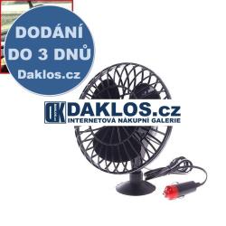 Mini větráček / ventilátor do auta s přísavkou