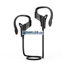 Špuntová bluetooth bezdrátová sluchátka na sport / běhání