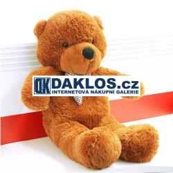 Gigantický plyšový růžový medvěd -  90 cm, 100% bavlna