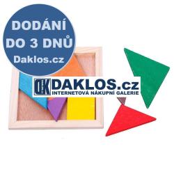 IQ Dřevěné kostky / Hlavolam / Stavebnice / Puzzle