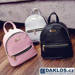 Mini kabelkový dámský batoh z PU kůže