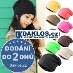 Unisex Hip-Hop zimní čepice - různé barvy