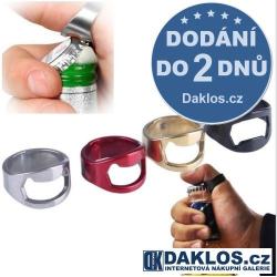 Prsten / prstýnek pro otvírání lahví / Otvírák