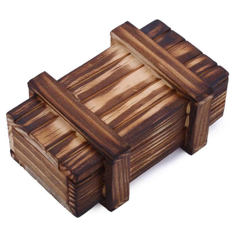 Magická / Kouzelná dřevěná krabička / Hlavolam