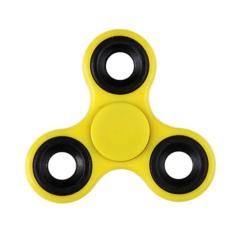 Fidget Spinner / Spinee proti stresu / Antistresové ložisko - žlutá / černá