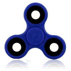 Fidget Spinner / Spinee proti stresu / Antistresové ložisko - modrá / černá