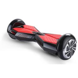 Kolonožka Hoverboard Lamborghini s Bluetooth - černo-červený + DOPRAVA ZDARMA
