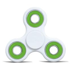 Fidget Spinner / Spinee proti stresu / Antistresové ložisko - bílá / zelená