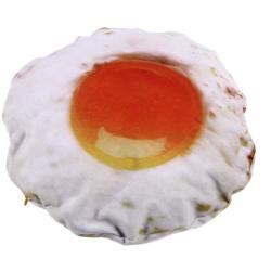 Gigantické 40 cm plyšové volské oko / vajíčko / polštář / 100% bavlna