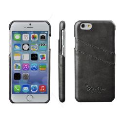 Luxusní kryt s kapsou na kreditní karty pro iPhone 6 / 6S