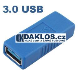 USB 3.0 adaptér / Spojka / FEMALE - FEMALE