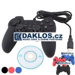 USB ovladač pro hry - Dual Shock Gamepad / Joystick