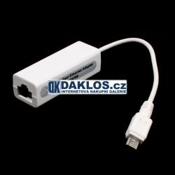 Konvertor z LAN do micro USB